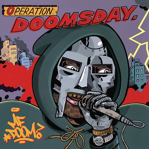 MF Doom - Operation: Doomsday (Alternative MC Sleeve)