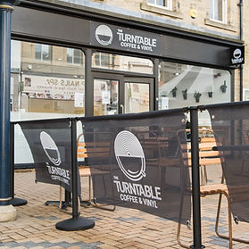 Shop front of the turntable