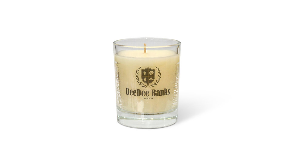 OUD WOODSMOKE PERFUMED CANDLE (20CL Clear Glass)