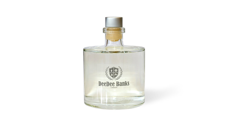 TUSCAN LEATHER & THYME DIFFUSER (500ml Clear Glass)
