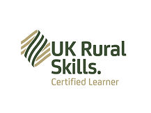 We're a UK Rural Skills certified learner.
