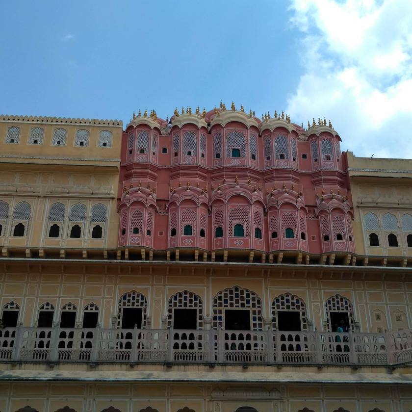 Backside of Hawa Mahal