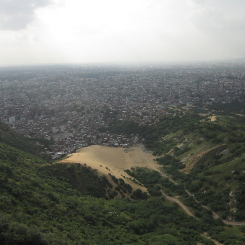 Jaipur View from Nahargarh fort