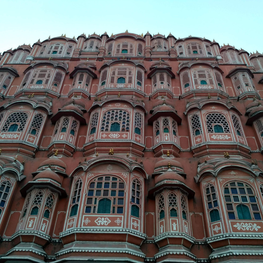 Front side view of Hawa Mahal