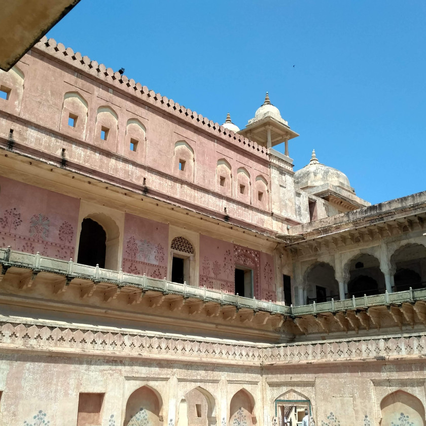 Queen's Palace inside Amer fort