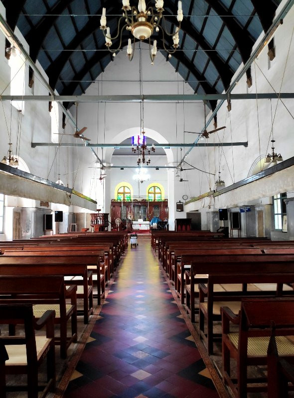 Interiors of St.Francis Church