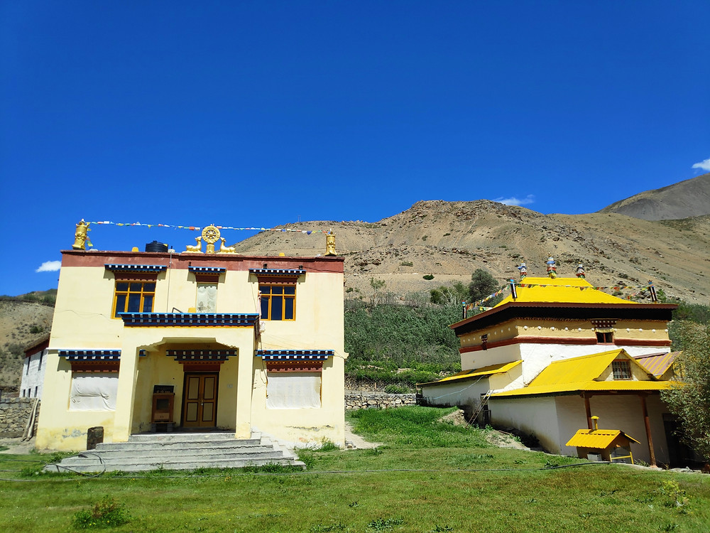 Lahlung Monastery on the way to Kaza from Tabo