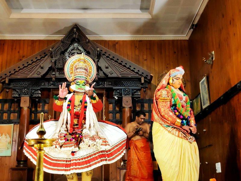 Kathakali Performance at Kerala Cultural Center