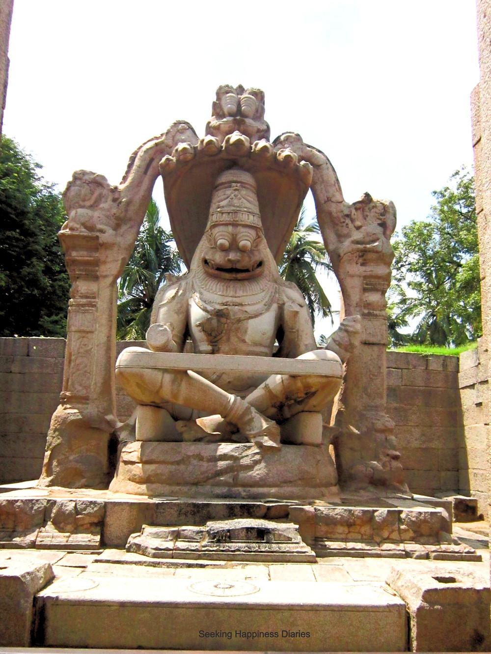 Narasimha Statue of Hampi