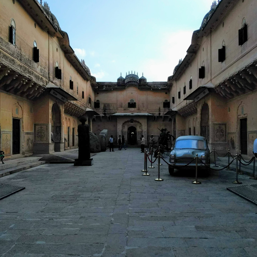 Inside Nahargarh fort