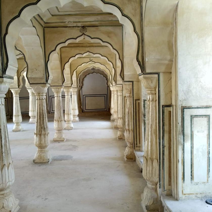 Diwan-e-aam (Public's court) of Amer fort