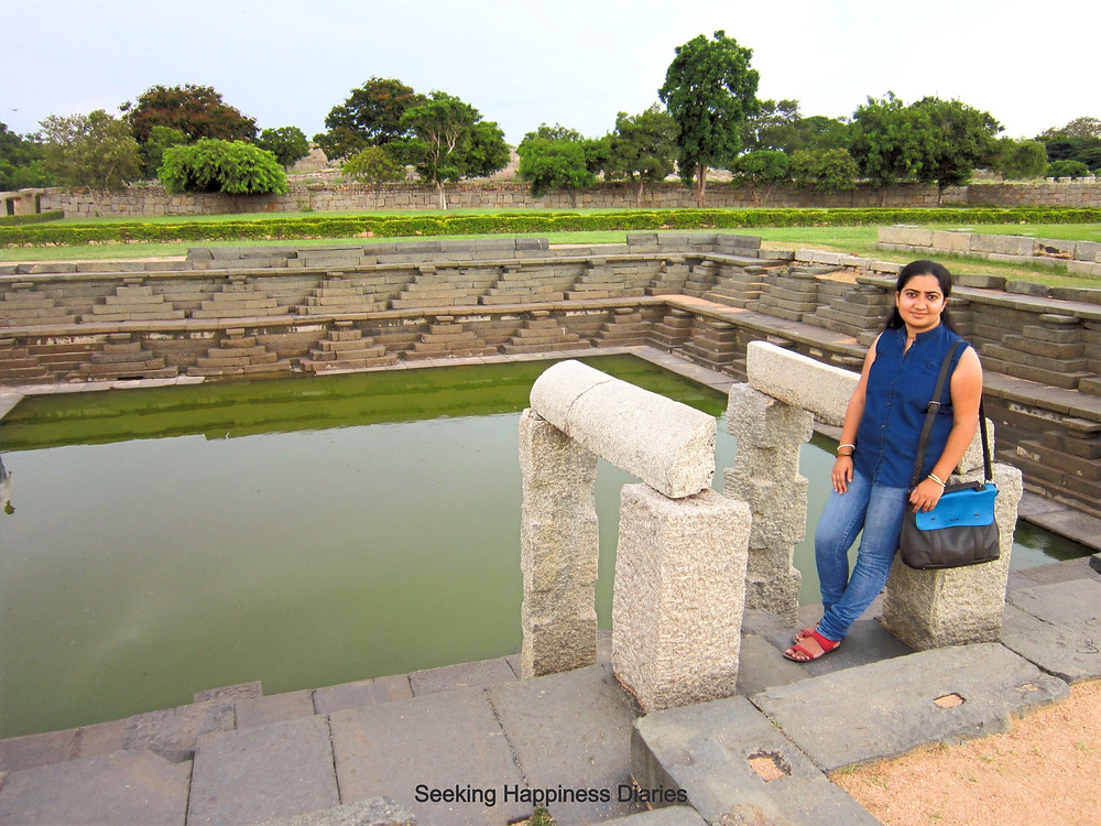 The Stepped Well, Hampi