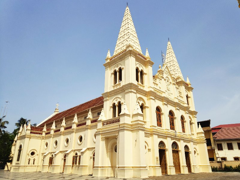 Santa Cruz Cathedral Basilica, Fort Kochi
