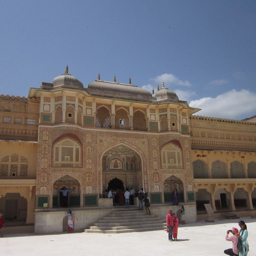Ganesh Pol Gate (Entrance to Private space for the royals) in Amer Fort