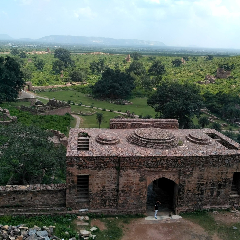 Some view from top of Bhangarh fort