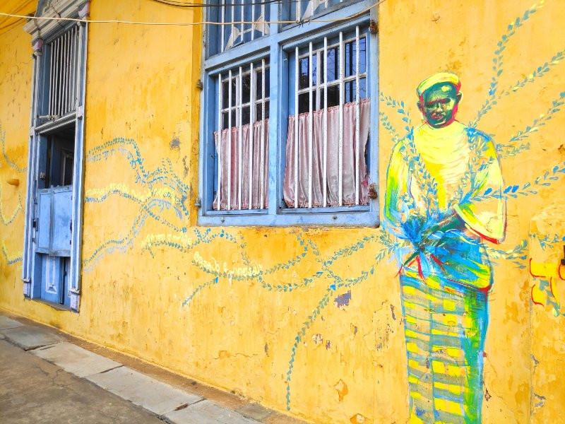 Street art in Jew Town