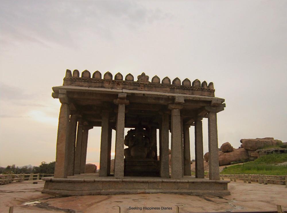 Sasivakalu Ganesh Statue in Hampi