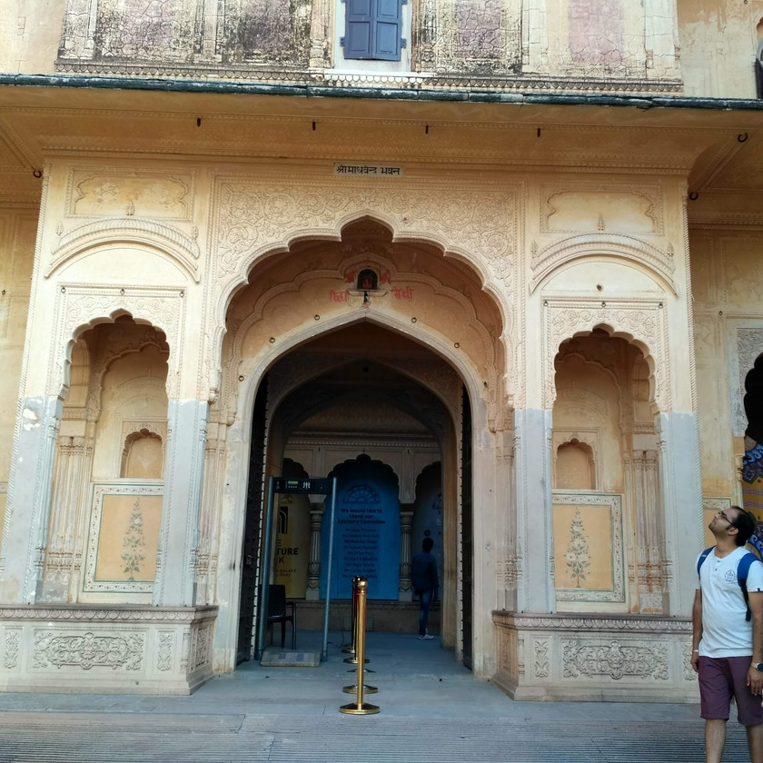 Entrance to Nahargarh palace