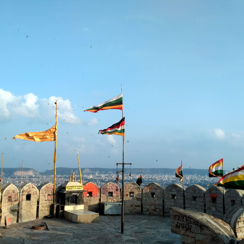 Royal Flags in Nahargarh fort