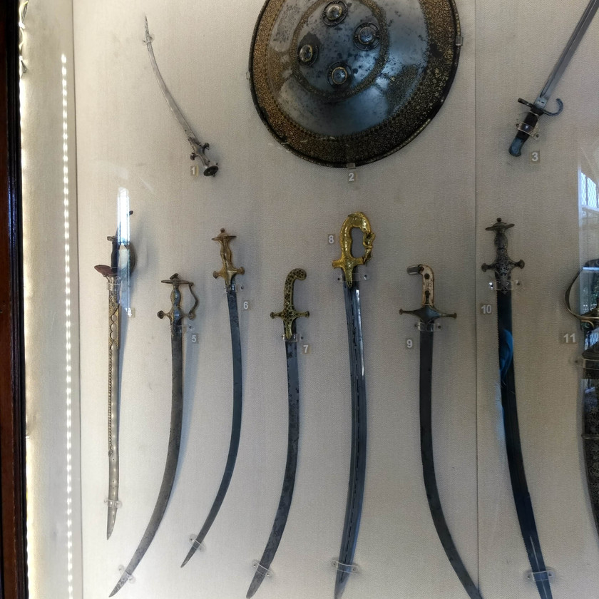 Swords of the royals