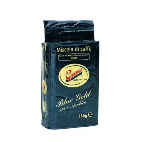 LA GENOVESE GOLD BLEND GROUND COFFEE 250gr