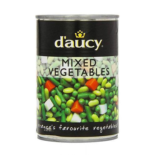 D'aucy Mixed Vegetables 400gr