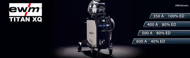 Сварочные полуавтоматы Titan XQ