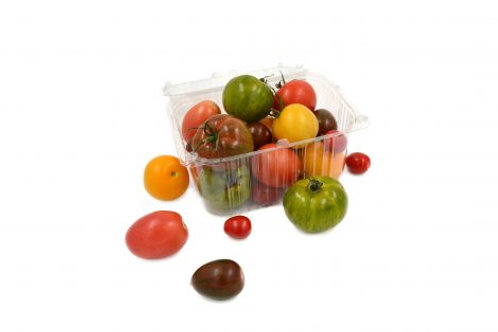 MIXED HERITAGE TOMATOES 500gr PUNNET