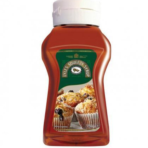 LYLE'S SQUEEZY GOLDEN SYRUP 680GR