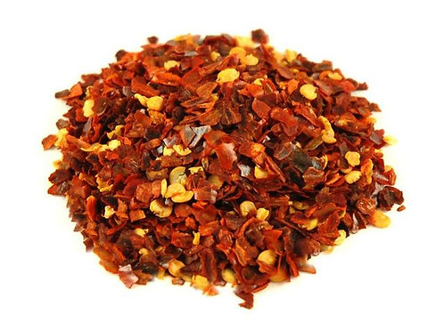 RED PEPERONCINI CHILLI FLAKES 50GR JAR