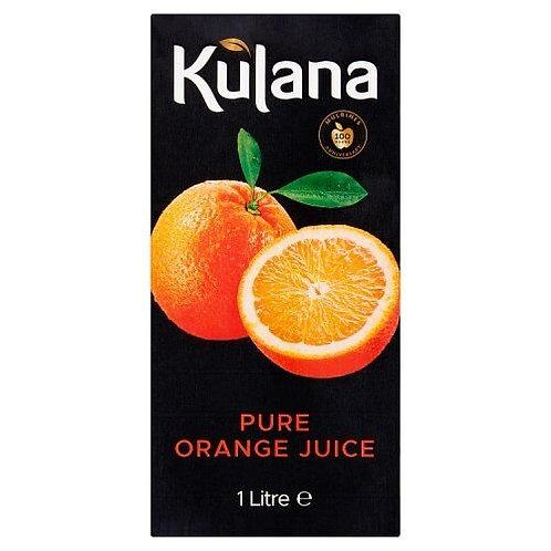 KULHUNA 1 LITRE ORANGE JUICE