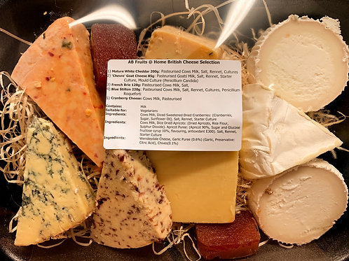 ASSORTED CHEESE PLATTER 1 KILO WEIGHT