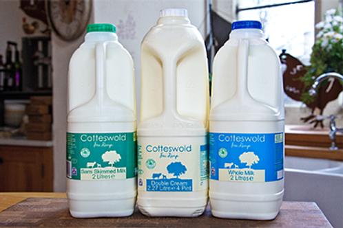 Fresh Cotteswold Double Cream 2.27 Litre