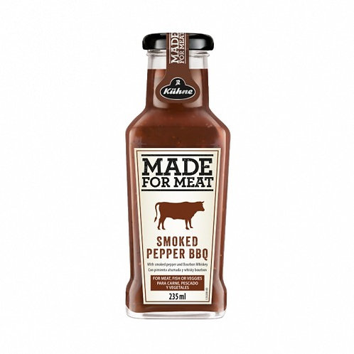 Made For Meat Smoked Pepper BBQ Sauce 235ml Bottle