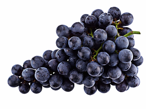 Grapes Black Seedless Punnet 500g