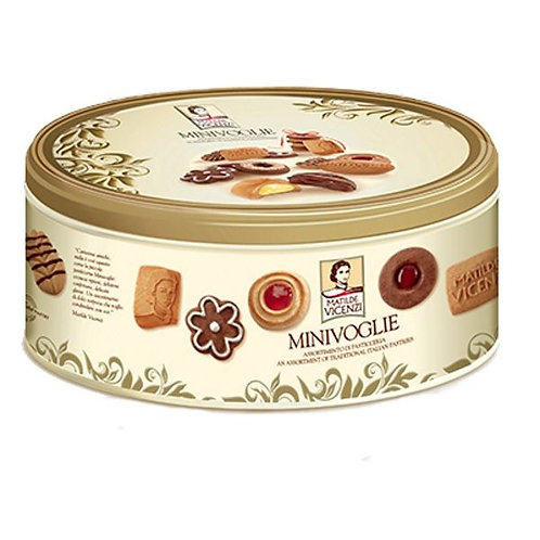 Vicenzi Assorted Pastries 350gr Tin