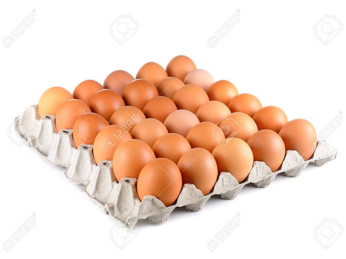 BRITISH LION STAMPED EGGS TRAY OF 30