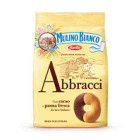 MULINO BIANCO ABBRACCI CREAMY CHOCOLATE BISCUITS 350GR