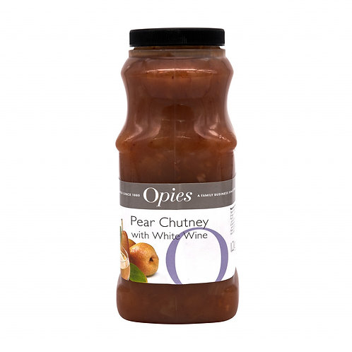 Opies Pear & White Wine Chutney 2.5kg