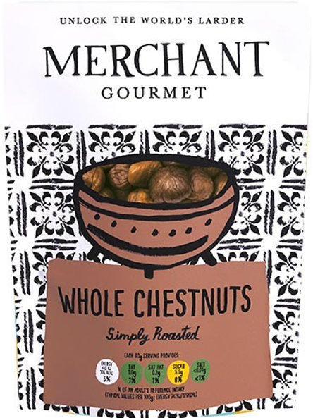 WHOLE COOKED CHESTNUTS 180GR