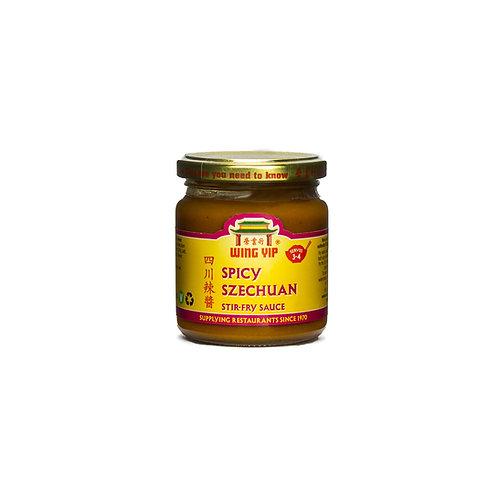 Wing Yip Spicy Szechuan Sauce 185ml Jar