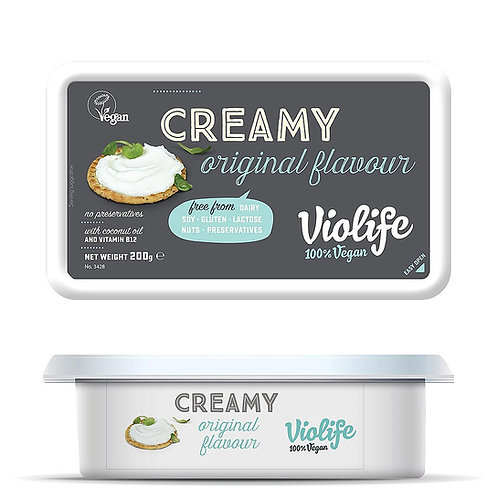 VIOLIFE VEGAN CREAM CHEESE 200gr