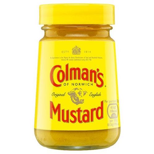 COLMANS ENGLISH MUSTARD 100GR
