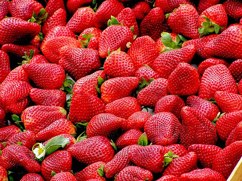 FRESH STRAWBERRIES 500GR PUNNETS