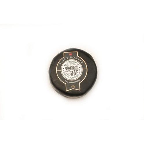 Black Waxed Snowdonia Bomber Cheese 400g