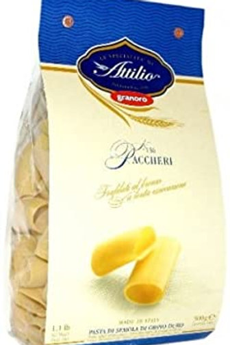 PASTA GRANORO PACCHERI BRONZE TYPE 12 X 500GR (CASE ONLY DEAL)