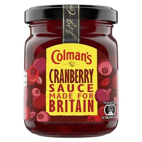 Colman's Cranberry Sauce 165gr