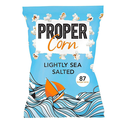 PROPERCORN LIGHTLY SALTED 20GR BAGS
