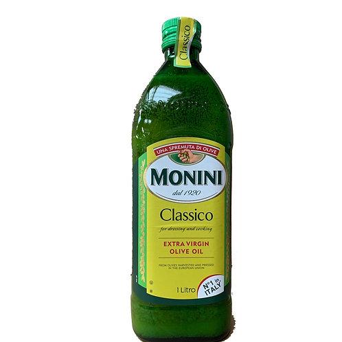 MONINI EXTRA VIRGIN OLIVE OIL 1 LITRE