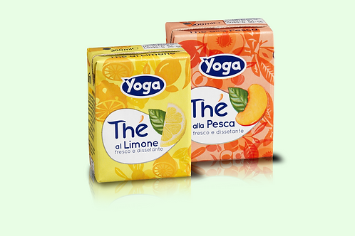 YOGA YOTEA PEACH FLAVOUR  DRINK 3 X 200ML PACK